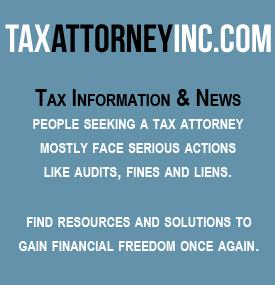 Tax Attorney information